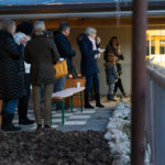 Besucher und Besucherinnen am 24-November 2018 auf dem Eselhof Aline
