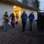 Besucher und Besucherinnen am 24-November 2018 auf dem Eselhof Aline-2