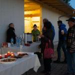 Besucher und Besucherinnen am 24-November 2018 auf dem Eselhof Aline-3