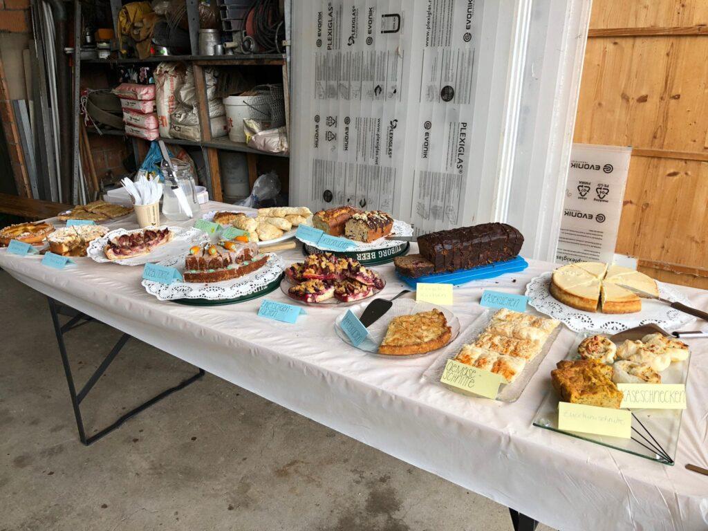 Lebenshoftag 2020 Kuchenbuffet